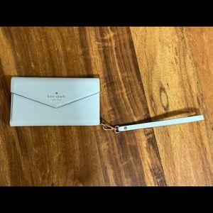 Kate spade wristlet/phone case